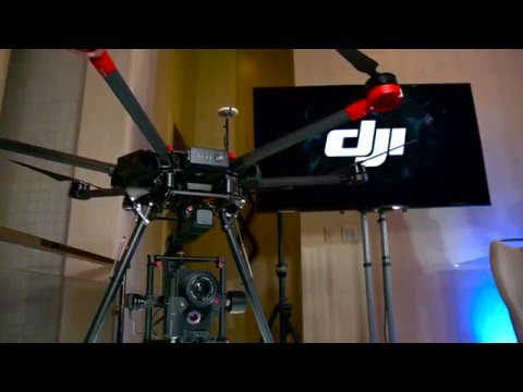 Newsshooter at NAB 2016: DJI Matrice 600 heavy lift drone