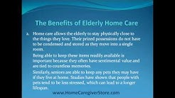The Benefits of Elderly Homecare
