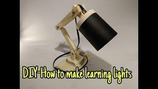 DIY - membuat lampu belajar