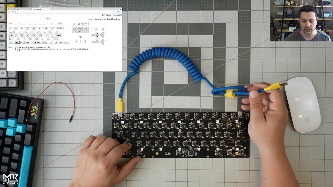 Review: KBD6X Hotswap PCB, MDA Big Bang and Topre keycaps