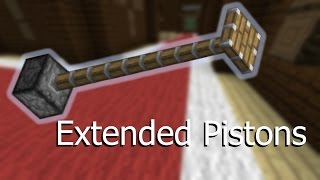 [1.11] Extended Pistons – Vanilla Minecraft Command Blocks