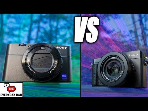 Lumix LX100 II VS Sony RX100 V Best Portable 4k Video Studio?