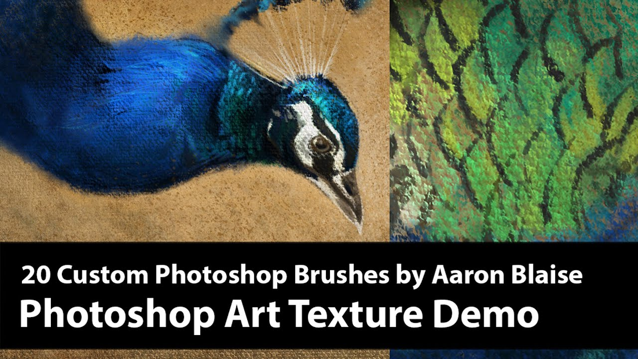 Brush Texture Sets Archives - The Art of Aaron Blaise