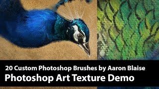 Photoshop Texture Brush Demo