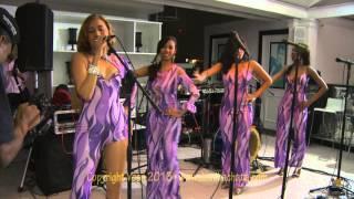 DR3rd: Topacio La Diva y Aventureras live bachata concert in Bianco@BQ Santo Domingo