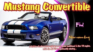 2019 Ford Mustang Convertible | 2019 ford mustang convertible shelby | new cars buy