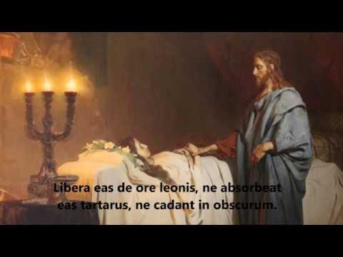 Offertory, Domine Jesu Christe - Requiem Mass