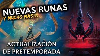 ¡LAS NUEVAS RUNAS! IMPRESIONANTE - PRE TEMPORADA 2018 | Noticias LOL