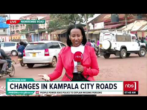 Changes in Kampala City Roads| NBS Up and About