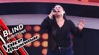 Harsaylar - Girl on Fire (Alicia Keys)  Blind Audition - The Voice Myanmar 2019