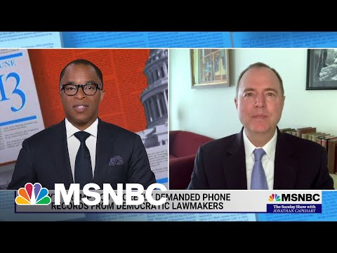 Schiff Responds To Trump DOJ Seizing His Phone Data