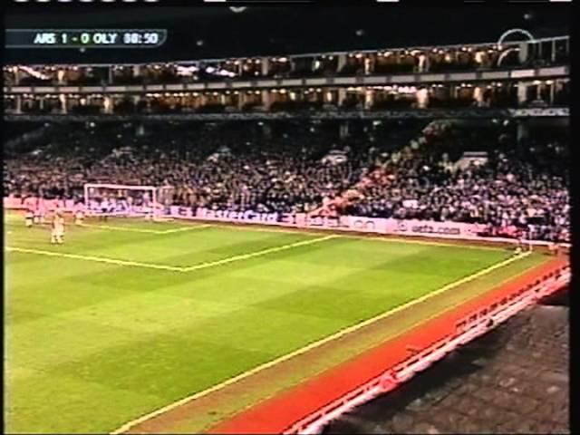 2001 February 21 Arsenal England 1 Olympique Lyonnais France 1 Champions League