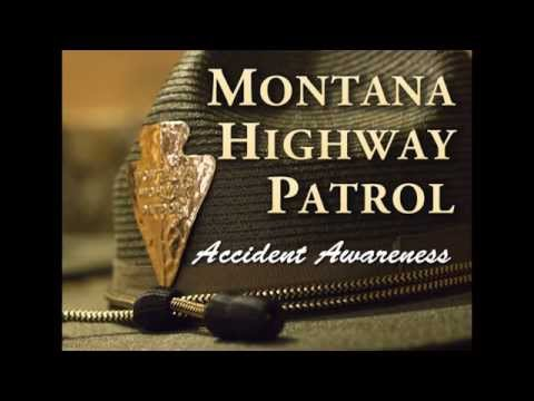 Mont. highway patrol's winter driving awareness