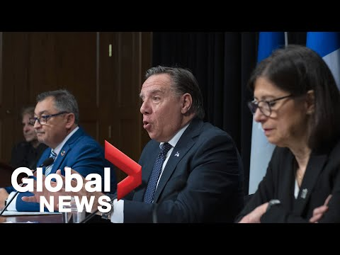 Coronavirus outbreak: Quebec government provides update after releasing COVID-19 projections   LIVE
