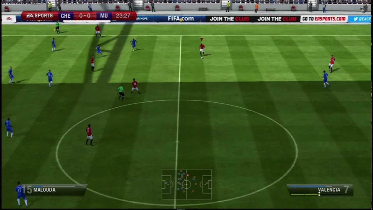 FIFA Soccer 13 - Manchester United vs Chelsea - FA Cup Final (Gameplay Video)