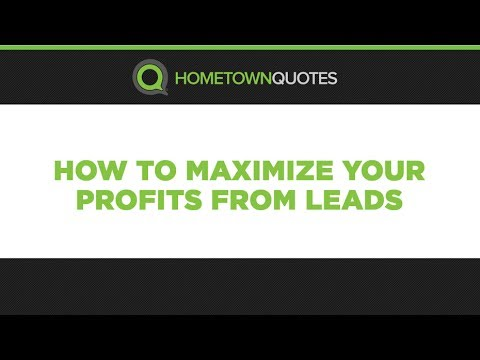 How To Maximize Profits From Insurance Leads with Bob Klee from Hometown Quotes