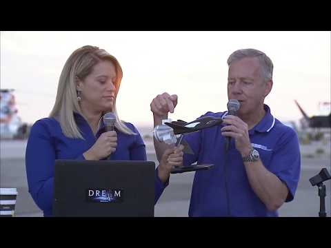 Dream Chaser® spacecraft Captive Carry Flight 2017