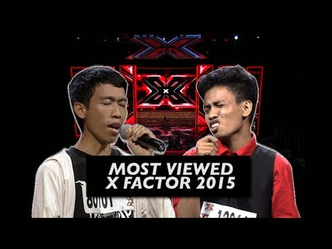 Most Viewed X FACTOR INDONESIA AUDITION 2015