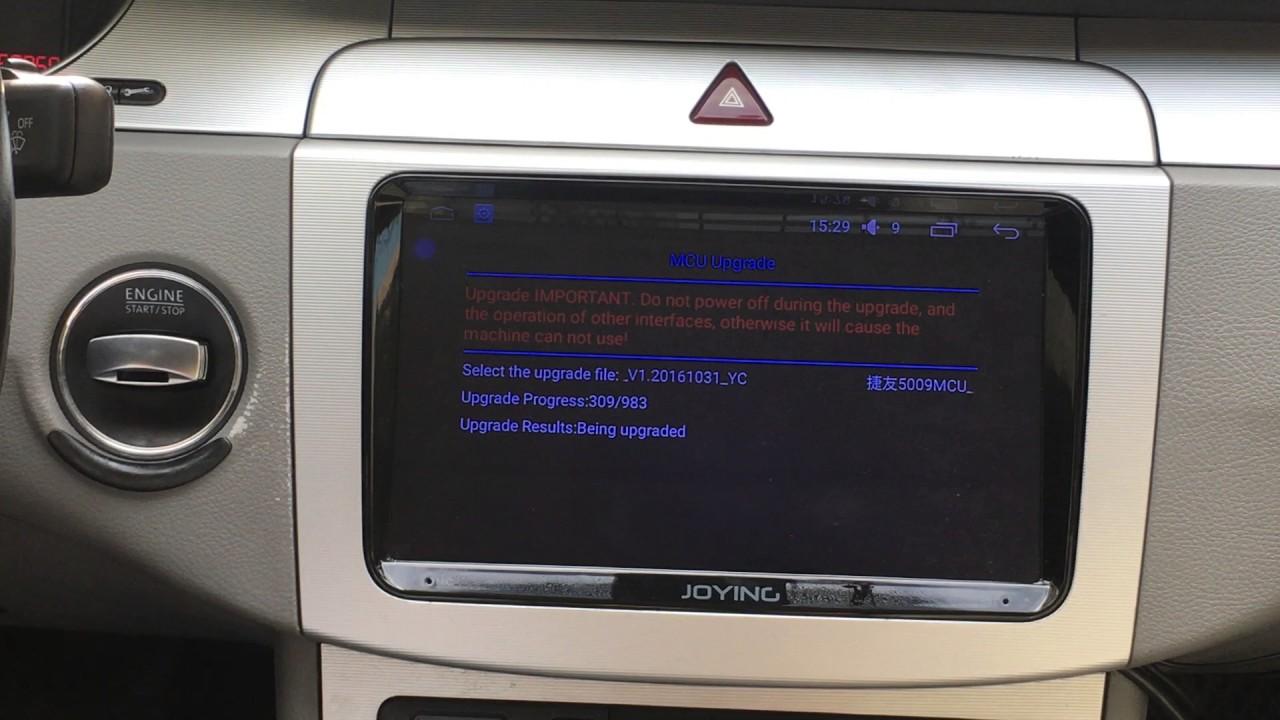 Set the settings like steering wheel control on Joying VW Skoda Seat  android 5 1 autoradio