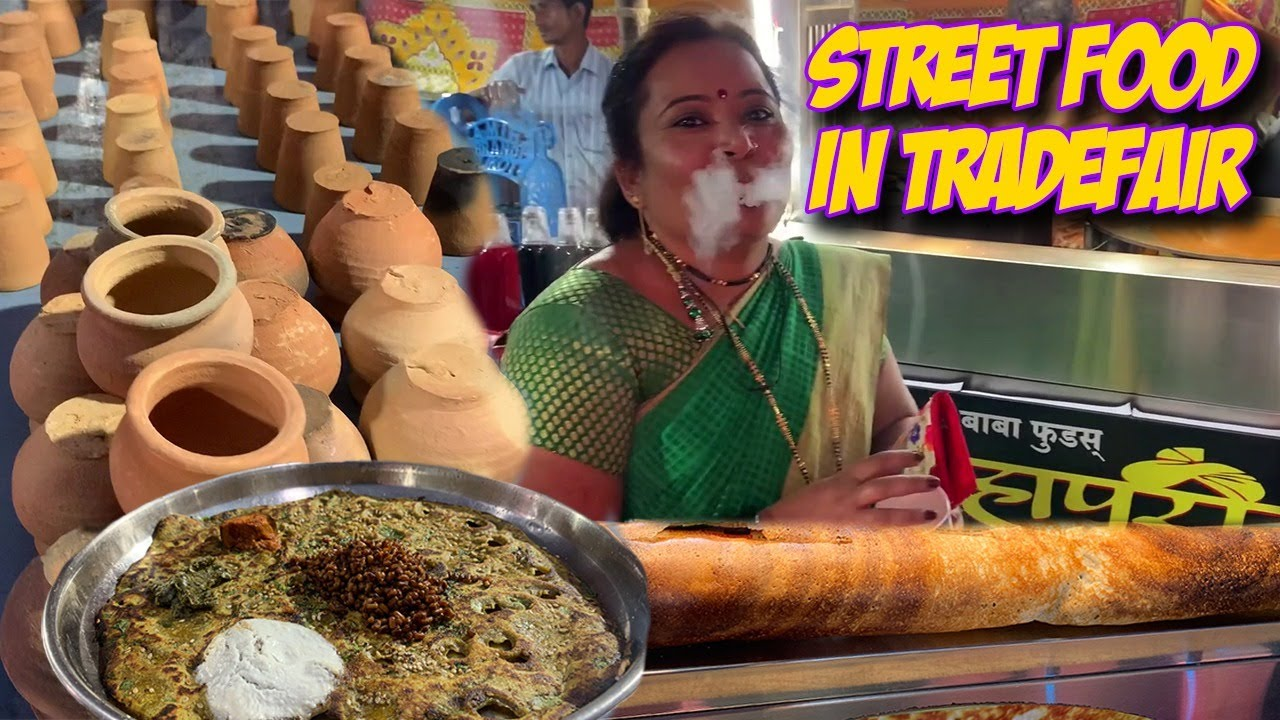 Street food of Maharashtra    Must try in a lifetime Dishes    Thalipeeth    Spring potato   