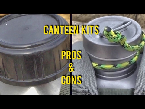 Pros and Cons Canteen Kits: Pathfinder Canteen Kit & Heavy Cover Canteen Kit