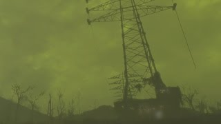Fallout 4: A Beautifully Eerie Nuclear Storm in 1080p at 60fps