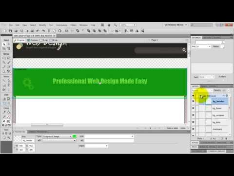 How To Design A Website In Fireworks (AMAZING Tutorial!)