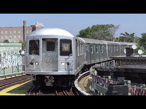 NYC Subway HD 60fps: [RFW] R42 M Shuttle Train Wrong Rail Round Trip Railfan Window Rides (9/4/17)