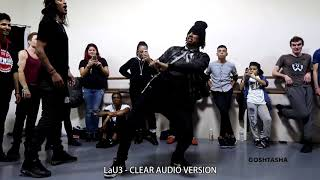 Larry (Les Twins) - Jacquees - Feel it (CLEAR AUDIO)