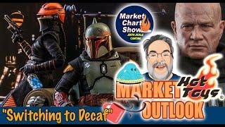 Hot Toys NEWS • Star Wars Mandalorian Boba Fett with Throne  - Sixth Scale Cantina Market Chart Show