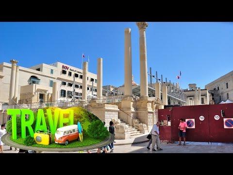 Valletta #Malta ✈ HD 1080p50