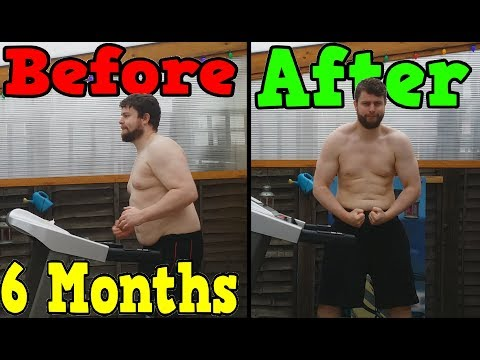 Running Everyday For 6 Months (Weight Loss Time Lapse)