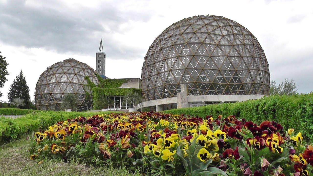 Gradina Botanica Jibou / Jibou Botanical Garden - part 1 - YouTube