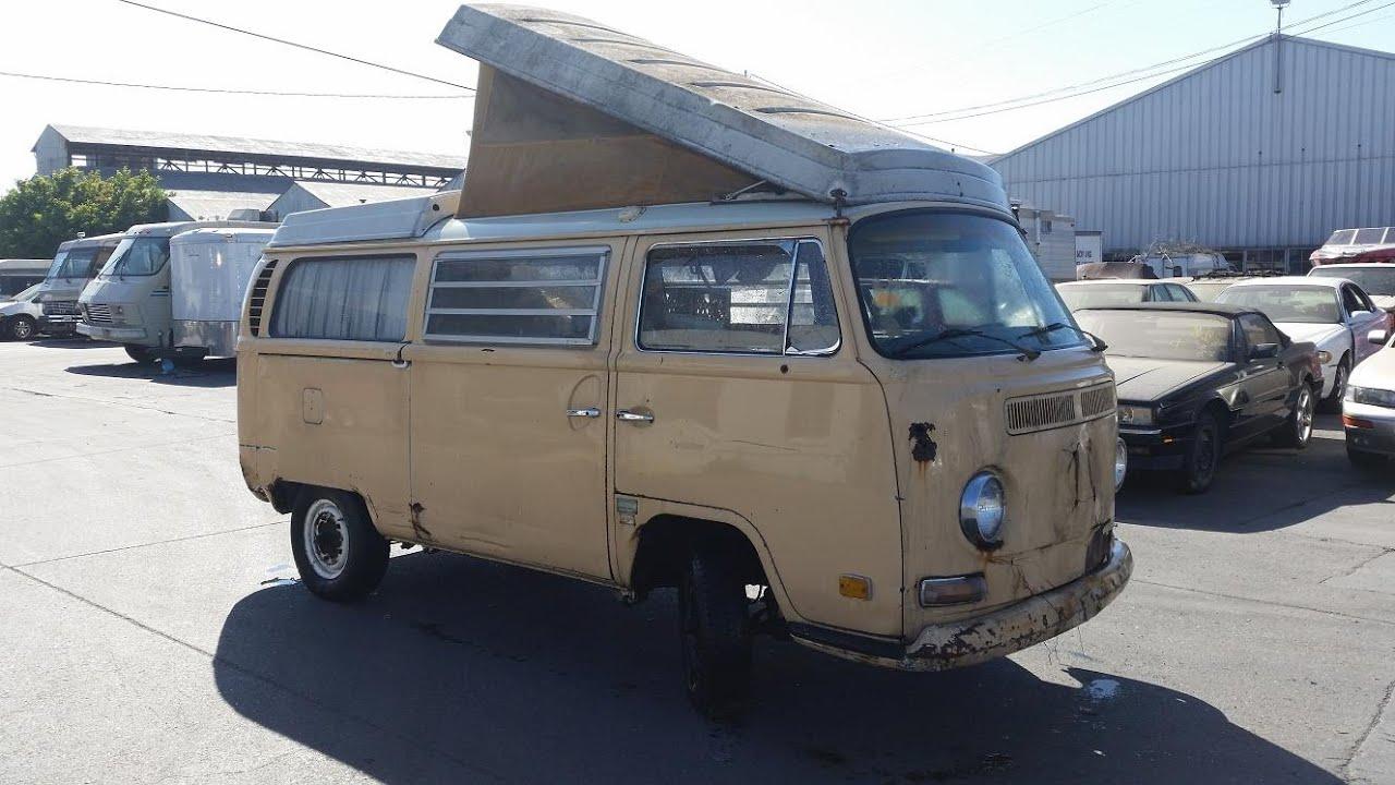 sold 1970 vw westfalia camper for sale july 30 2015 california look youtube. Black Bedroom Furniture Sets. Home Design Ideas