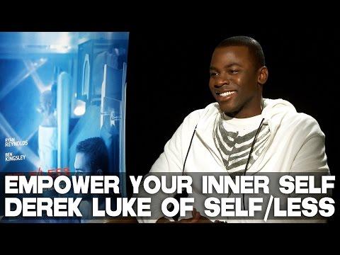 "Derek Luke's advice to actors, ""Empower Your Inner Self""  SELFLESS"