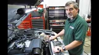 Coolant Hose & Thermostat Service On LR3 or Range Rover Sport
