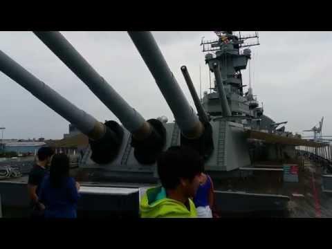 USS Battleship NJ, Camden