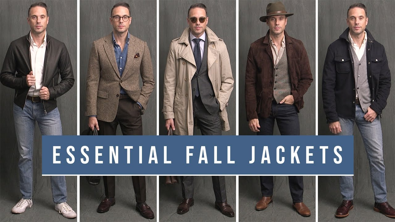 [VIDEO] - 5 Essential Jackets For Your Fall Wardrobe   Trench, Bomber, Suede Jacket   Fall Outfit Ideas 2