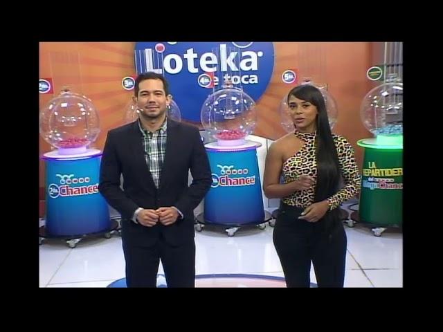 Loteka Lotería Electrónica Sorteo 07:55 PM 23-07-2021