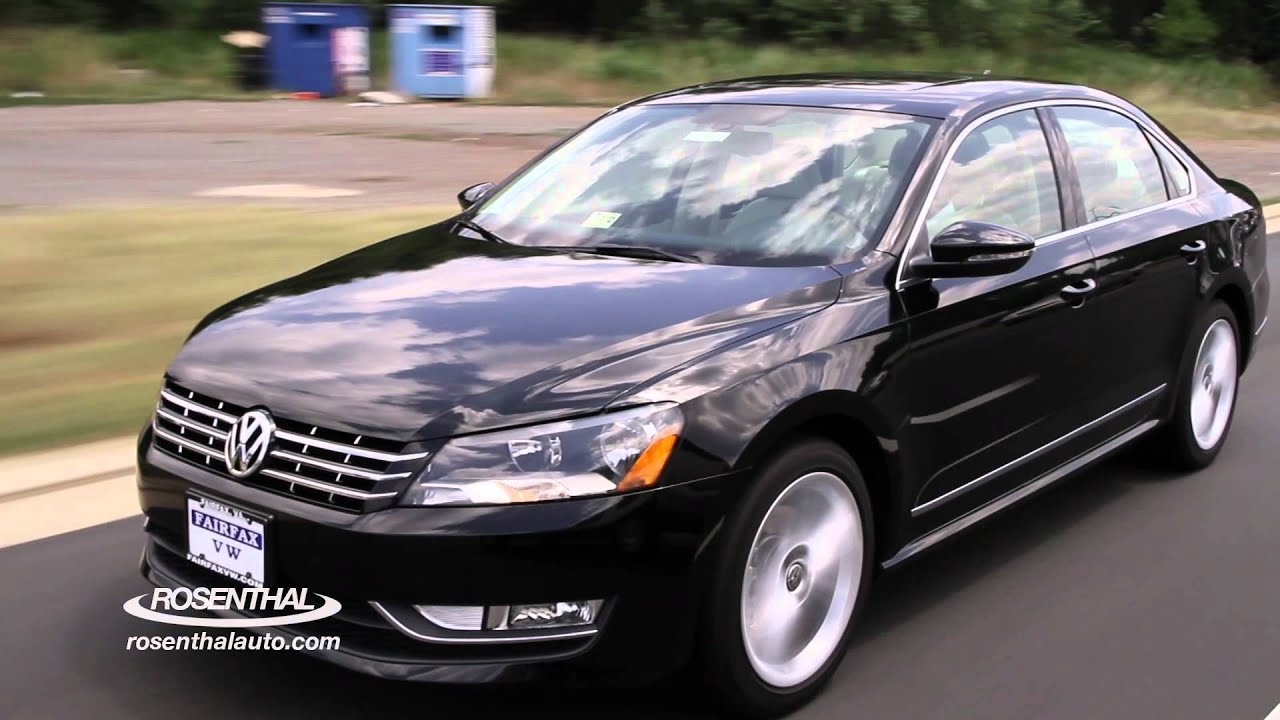 2012 Vw Passat Test Drive Amp Review Youtube