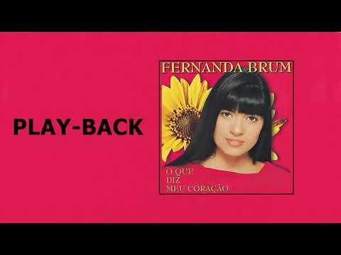 """Fernanda Brum - O Que Diz Meu Coração """"Playback"""" [1999]"""