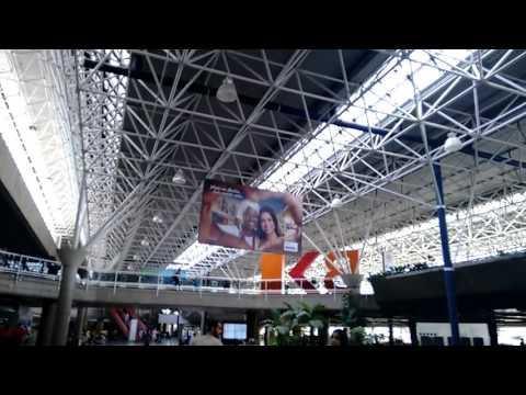 Arriving at the International Airport JK Brasilia