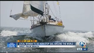Local woman to do non-stop sail around the world