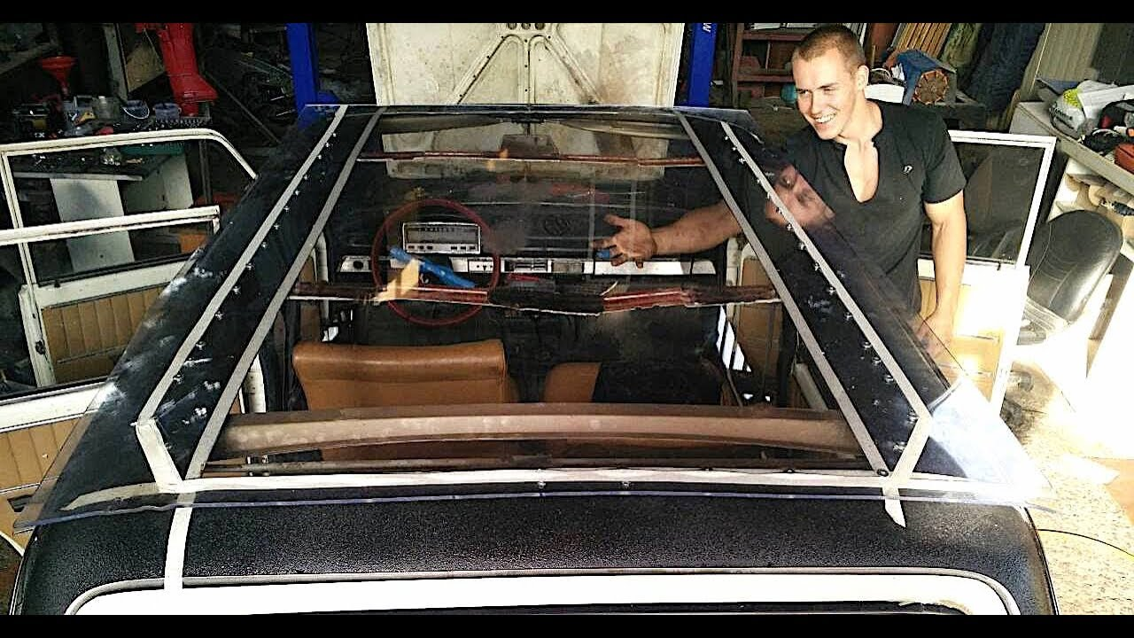 How To Make A Panoramic Sunroof On Car For 80 Vazzilla Part 2 Range Rover Wires