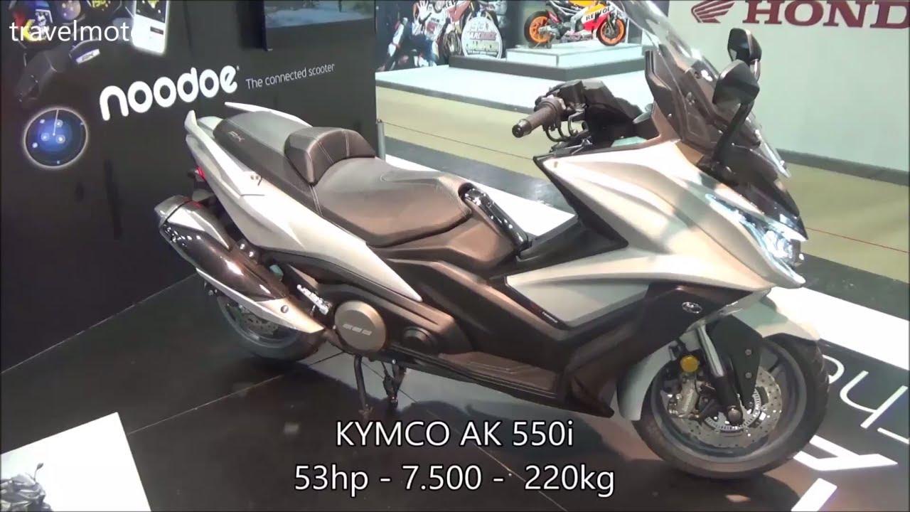 the kymco ak 550i mega scooter 2017 youtube. Black Bedroom Furniture Sets. Home Design Ideas