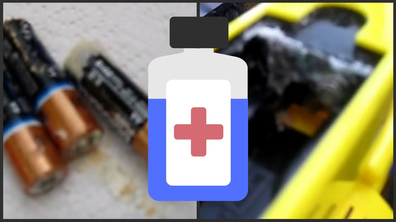 How To Clean Battery Acid Corrosion In Toys And How to Clean Battery  Terminals by justajolt