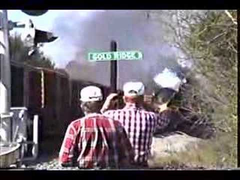 N&W 1218 run by at Gold Ridge (Gold Hill), AL