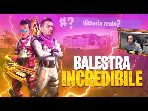 KILL INCREDIBILE DI BALESTRA! - ASSALTO AL SUPER-FORTINO [Fortnite Battle Royale DUO]