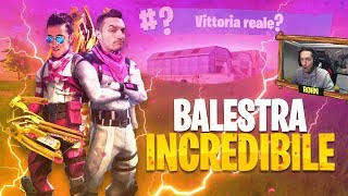 KILL INCREDIBILE DI BALESTRA! - ASSALTO AL SUPER-FORTINO [Fortnite Battle Royale DUO]