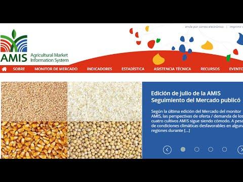 AMIS : Agricultural Market Information System
